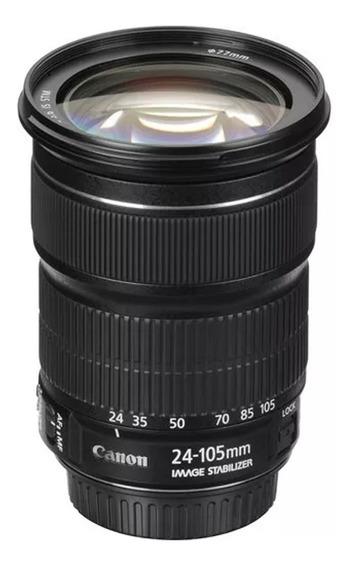 Lente Canon Ef 24-105mm F/3.5-5.6 Is Stm Na Caixa Lacrada