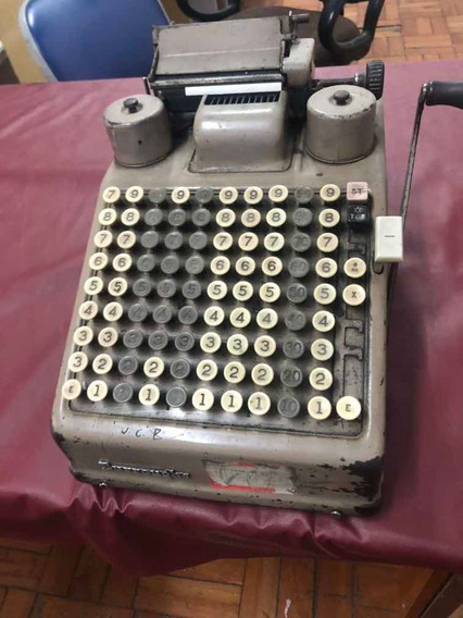 Calculadora Burroughs Antiga
