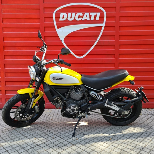 Ducati Scrambler Icon Amarilla 2019 Ducati Rosario