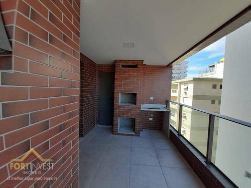 Imagem 1 de 27 de Apartamento Com 2 Dormitórios À Venda, 97 M² Por R$ 479.325,00 - Vila Guilhermina - Praia Grande/sp - Ap2809