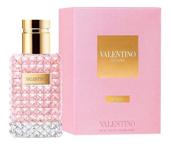 Perfume Valentino Dona Aqua Edt 50ml - Original Lacrado