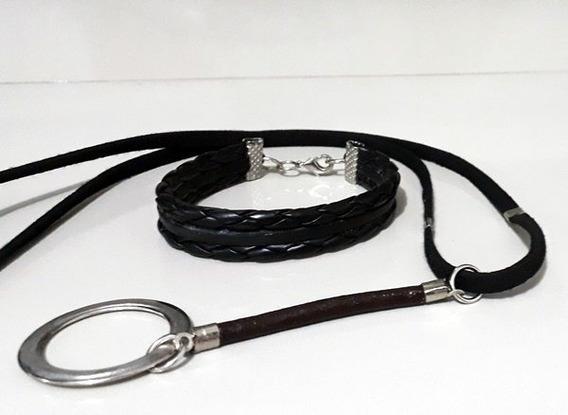 Conjunto Braided Leather (p)