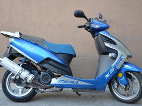 Motoneta Italika Xs150 / Azul Metálica / Buenas Condiciones