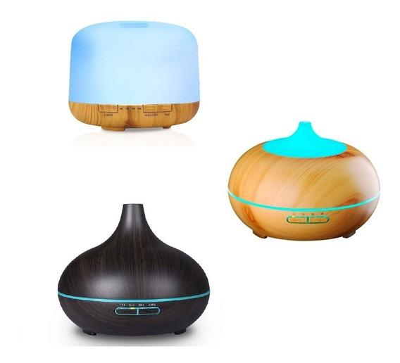 Humificador Difusor De Aromas 500ml Para Hogar Spa + Esencia