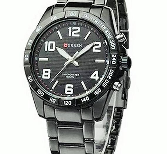Relógio Curren Masculino Barato Modelo 8107