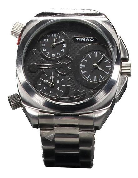 Relógio Technos Corinthians Timão Prata