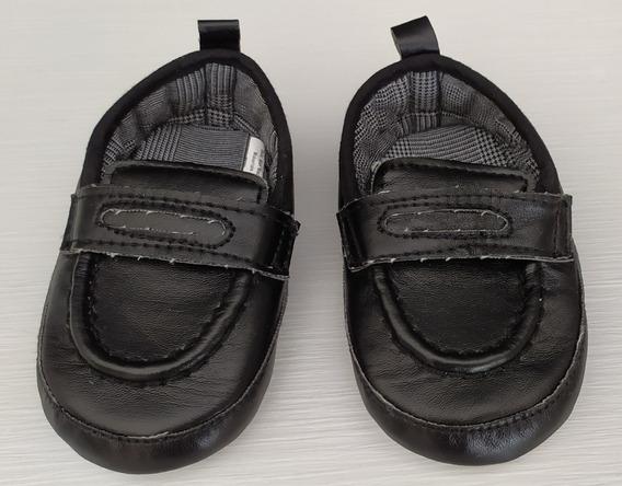 Calça Social (6 A 12m) E Sapato Social Preto Tam. (6 A 12 M)