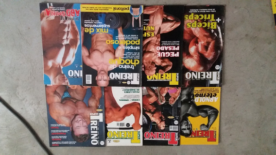 Lote De 3 Revistas Super Treino