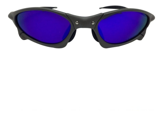 Oculos Oakley Juliet Penny Metal Azul Polarizado Promoção!!!