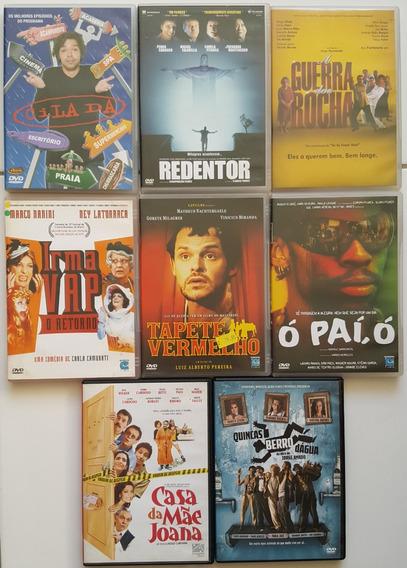 Super Lote Dvds Nacionais 3 Filmes Brasileiros