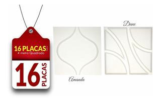 Painel 3d Fibra De Bambu, Papel De Parede 3d, Com 16 Placas