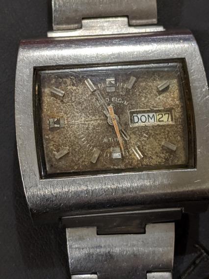 Reloj Vintage Lord Elgin Caja Tipo Manhattan