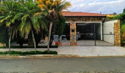 Casa Com 4 Dormitórios À Venda, 280 M² Por R$ 1.100.000 - Jardim Chapadão - Campinas/sp - Ca6282