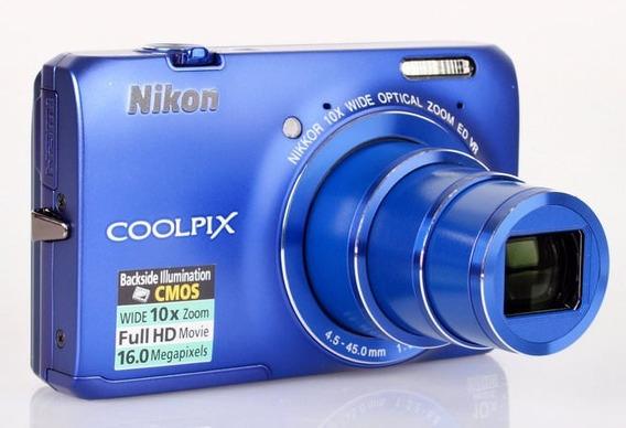 Camara Digital Nikon Coolpix S6300