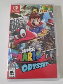 Jogo Super Mario Odissey - Nintendo Switch