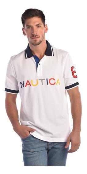 Playera Hombre Blanca Nautica K82931