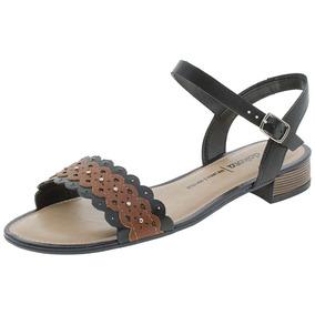 d481014a03 Sandalia Dakota Salto Baixo  Feminino Sandalias - Sapatos no Mercado ...