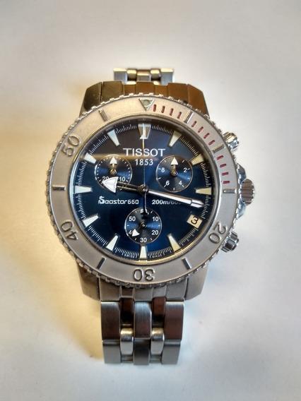 Relogio Tissot Seastar Diver 660 Chronograph