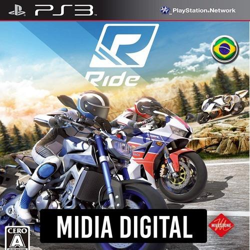 Ride Portugues - Ps3 Psn*