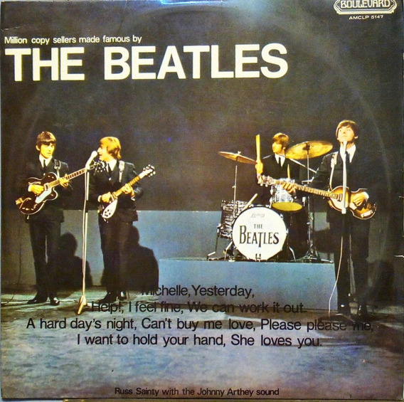Russ Sainty With The Johnny Arthey Lp The Beatles 11428