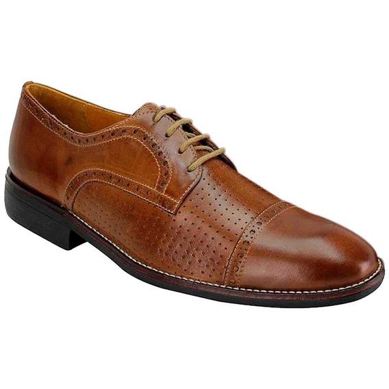 Sapato Social Masculino Oxford Sandro Moscoloni Zaki Marrom