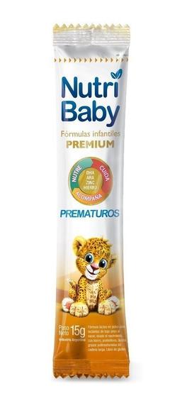 Leche de fórmula en polvo Ethical Pharma NutriBaby Prematuros por 15 unidades de 15g