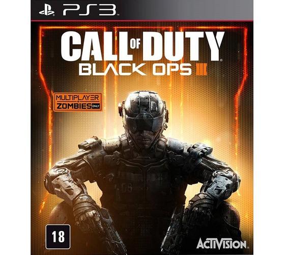 Ps3 Call Of Duty Black Ops 3 Iii Dublado Jogos Ps3