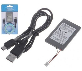 Batería Control Joystick Ps3 Playstation 3 Cable Usb 1800mah