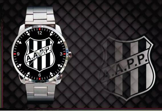 Relógio Personalizado Ponte Preta Futebol Macaca Campinas
