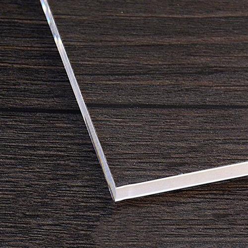 N//V Ligero Transparente Acr/ílico Sello Bloque Forma Rectangular DIY Scrapbooking Color Proceso Sello Bloque Herramientas