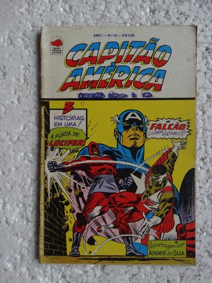 Capitão América Nº 10! Bloch Nov 1975