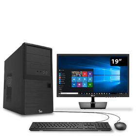 Computador Intel I5 7400 8gb 1tb Win 10 Monitor 19.5 3green