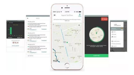 Script Clone Uber - Modelo Apporio 2018