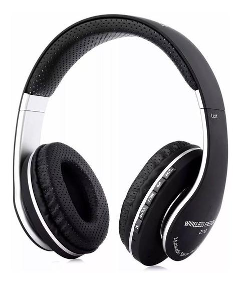 Fone De Ouvido Bluetooth Stereo Handsfree Radio E Micro Sd