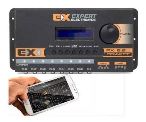 Processador Audio Expert Digital Px8.2 Hi Connect Bluetooth