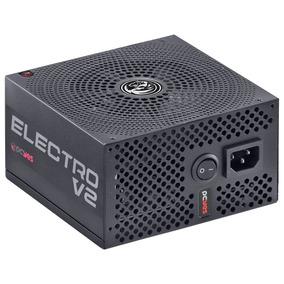 Fonte Gamer Pcyes Electro V2 450w 80 Plus Bronze Pfc Ativo