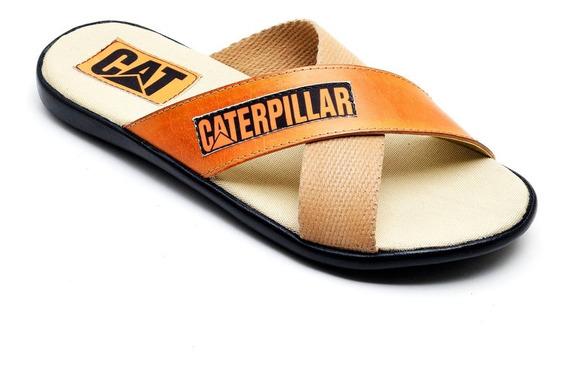Chinelo Masculino Caterpillar Sandália Antistress Promoção