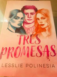 Libro Original Tres Promesas +regalo / Lesslie Polinesia