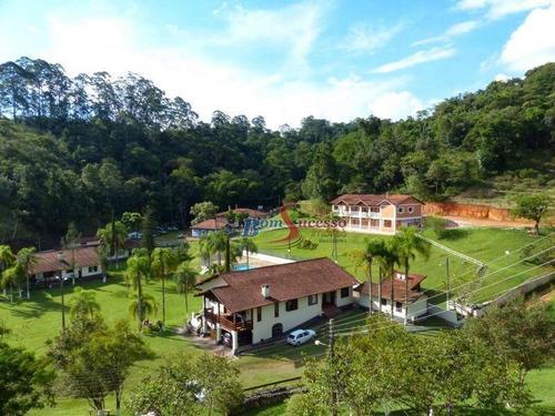 Imagem 1 de 25 de Hotel Com 12 Dormitórios À Venda, 4000 M² Por R$ 12.500.000,00 - Chácaras Bom Tempo - Franco Da Rocha/sp - Ho0001