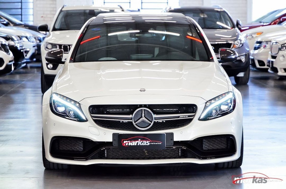 Mercedes-benz Classe Mercedsw C63 Amgs 4.0 V8 510hp 17 Mil