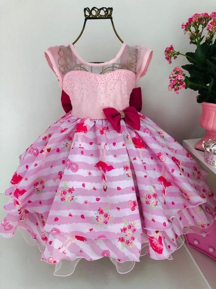Vestido Infantil Dama Daminha Casamento Festa Luxo