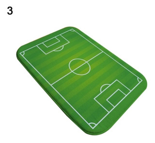Tapete Campo De Futbol 40 X 60cm Aproximadamente