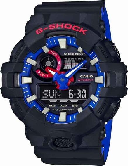 Relógio Casio G-shock Ga-700lt-1adr *original C/ Nfe
