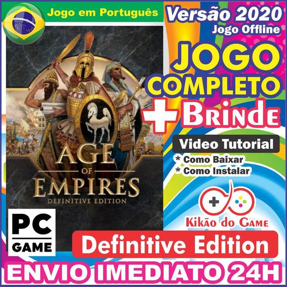 Age Of Empires Definitive Edition Pc Original/br + Brinde