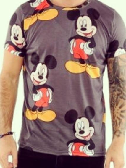 Remera Mickey Hombre
