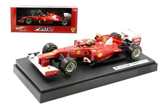 Ferrari F2012 - Felipe Massa - Hotwheels - Escala 1/18