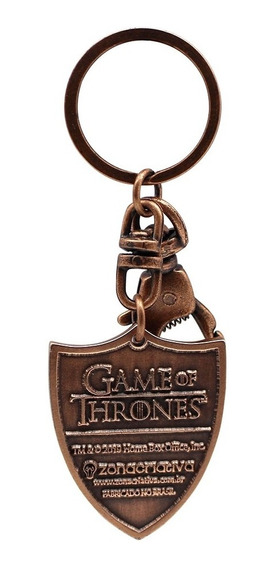 Chaveiro De Metal Game Of Thrones Targaryen 10070884