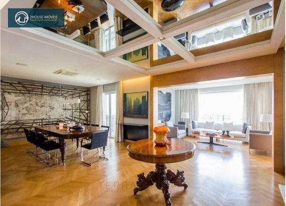 Apartamento Com 2 Dormitórios À Venda, 300 M² Por R$ 7.500.000,00 - Cidade Jardim - São Paulo/sp - Ap23840