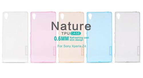 Case Protector Silicona Nillkin: Nature Sony Z4