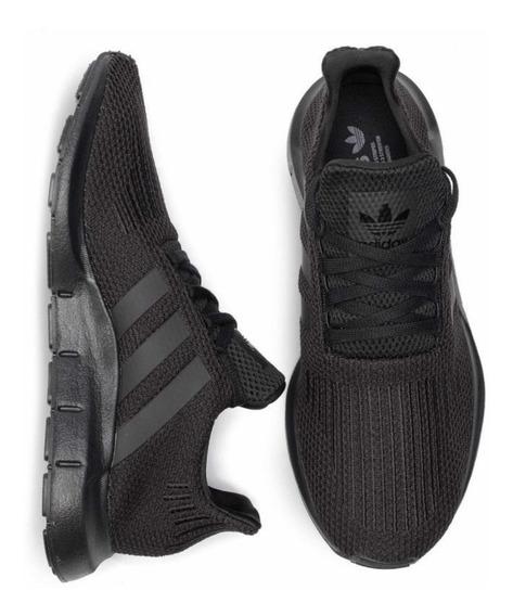 Tenis adidas Swift Run Negro / #6 Al 9.5 Mx C/ Caja Original